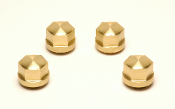 Brass Headbolt Covers