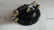 Speedster Gas cap, Black body BRASS pivots CSC-209B
