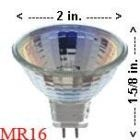 Halogen MR16 CSC-711